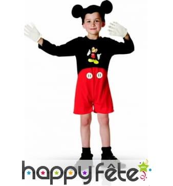 Tenue de Mickey en short pour enfant