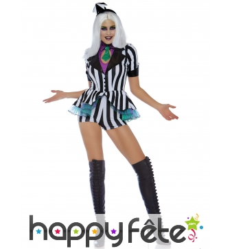 Tenue de miss beetlejuice sexy