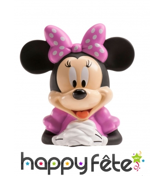 Tirelire de Minnie Mouse avec friandises