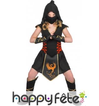 Tenue de ninja pour fille