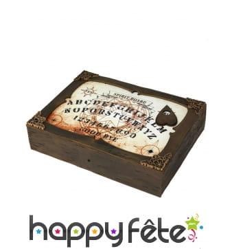 Table de Ouija lumineuse avec effet sonore 31x22cm