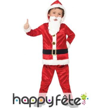 Tenue de père Noël pour enfant