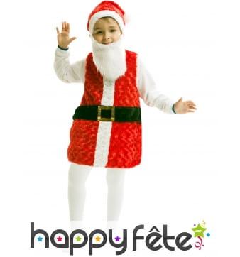 Tenue de petit Père Noël pour enfant