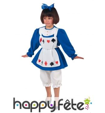 Tenue de petite Alice pour enfant