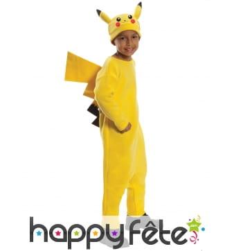 Tenue de Pikachu pour enfant