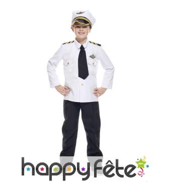 Tenue de pilote de l'air pour enfant