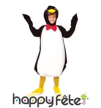 Tenue de pingouin pour enfant