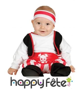 Tenue de pirate pour bébé