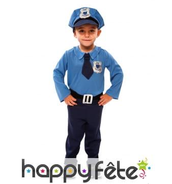 Tenue de policier pour enfant