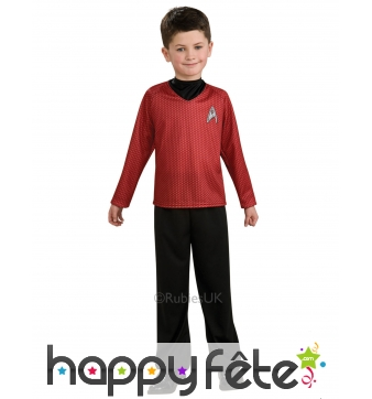 Tenue de Scotty pour enfant, Star Trek