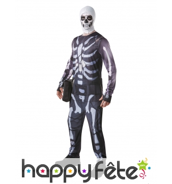 Tenue de Skull Trooper pour homme, Fortnite