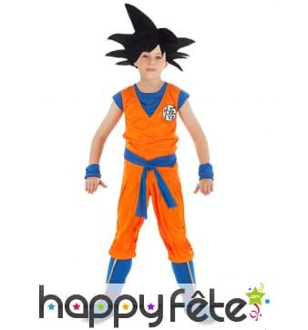 Tenue de Son Goku pour enfant, Dragon ball Z