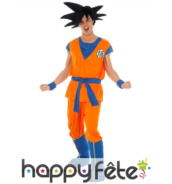 Tenue de Son Goku pour homme, Dragon ball Z