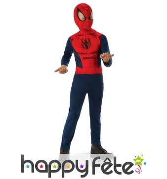 Tenue de Spiderman pour enfant, modèle classique