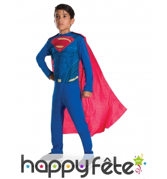 Tenue de Superman pour enfant, Justice League