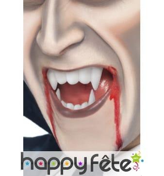 Tube de sang vampire