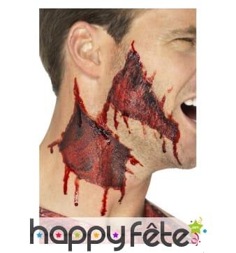 Tatouage de transfert peau déchirée