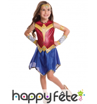 Tenue de Wonder Woman Justice League pour enfant