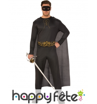 Tenue de Zorro pour homme