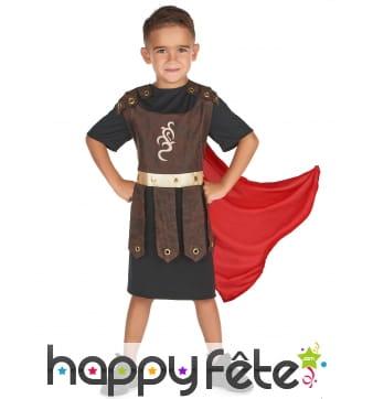 Tunique et cape de gladiateur pour enfant