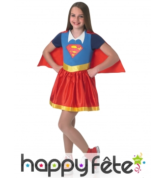 Tenue enfant de Supergirl, Super Hero Girls