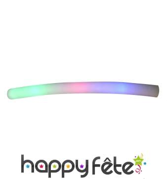 Tube en mousse lumineux tricolore pour rasta