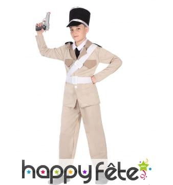 Tenue gendarme de st Tropez pour enfant