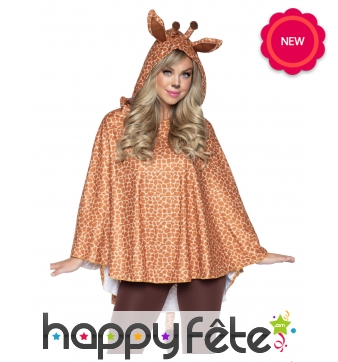 Tunique girafe pour femme