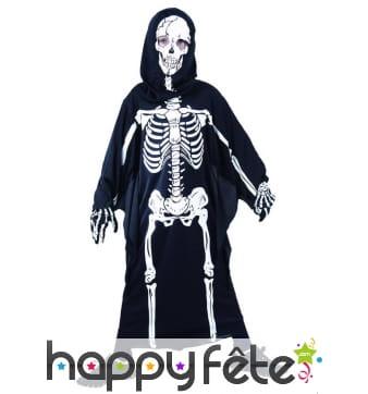 Tunique imprimé squelette pour enfant