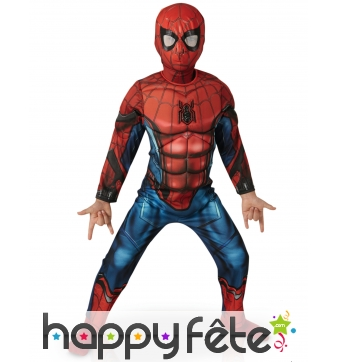 Tenue luxe de Spider-Man Homecoming pour enfant