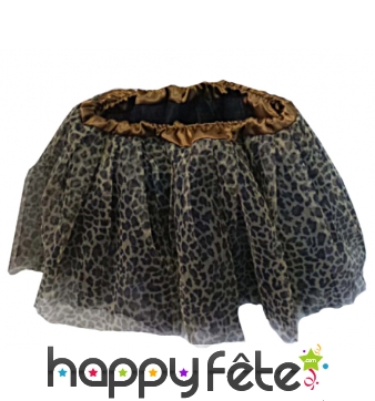 Tutu leopard en polyester