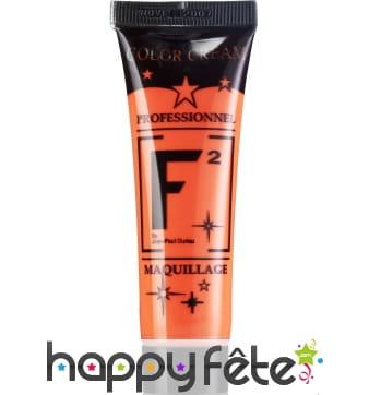 Tube Maquillage à l'eau Orange
