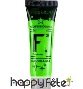 Tube Maquillage à l'eau Vert Fluo