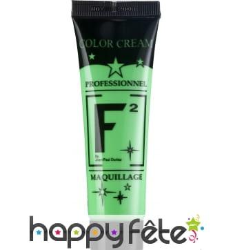 Tube Maquillage à l'eau Vert