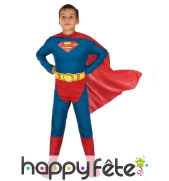 Tenue officielle de superman pour enfant