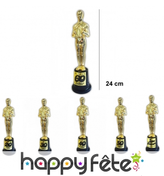 Trophée Oscar d'anniversaire, 24 cm