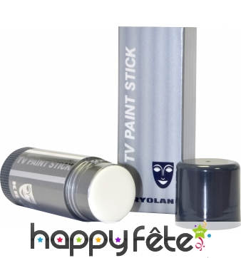 Tv paint stick creme maquillante blanc