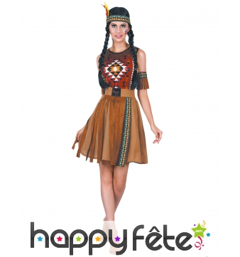 Tenue robe de femme indienne