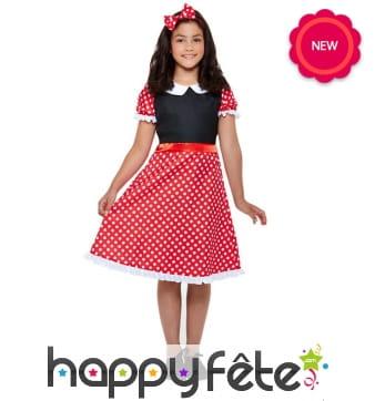 Tenue robe Minnie Mouse pour enfant
