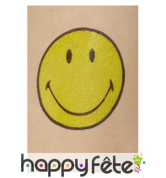 Tatouage Smiley