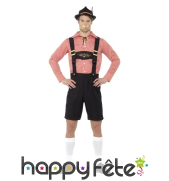 Tenue short court Oktoberfest