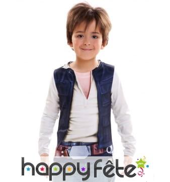 T-shirt de Han Solo pour enfant