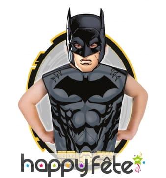 T-shirt et masque de Batman pour enfant