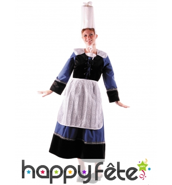 Tenue traditionnelle bretonne pour femme, luxe