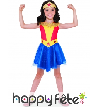 Tenue Wonder Woman Super Hero Girls pour fille