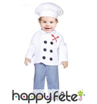 Uniforme de cuisine pour bébé