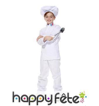 Uniforme de cuisinier Français pour enfant