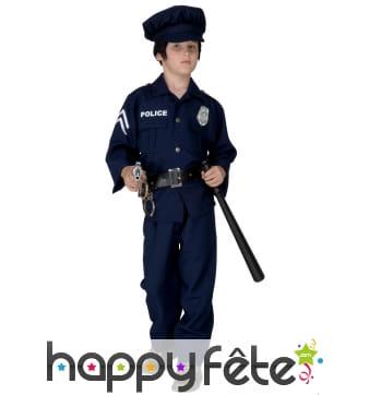 Uniforme de policier pour petit garçon