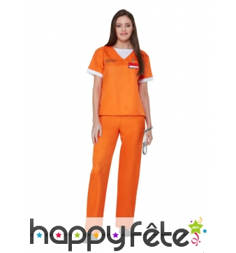 Uniforme Orange is the new black pour femme