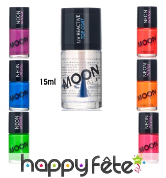 Vernis à ongles phosphorescent Moonglow, 15ml